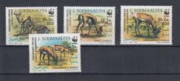 Somalia (BBK) Michel Cat.No. Mnh/** 436/439 Wwf - Somalia (1960-...)