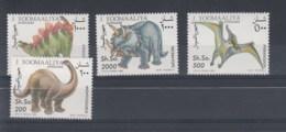 Somalia (BBK) Michel Cat.No. Mnh/** 480/483 Dinos - Somalia (1960-...)