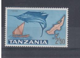 Tansania  (BBK) Michel Cat.No. Mnh/** 15 Fish - Tanzanie (1964-...)
