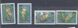 Tansania  (BBK) Michel Cat.No. Mnh/** 545/548 Wwf - Tanzanie (1964-...)