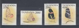 Tansania  (BBK) Michel Cat.No. Mnh/** 3303/3306 - Tanzanie (1964-...)