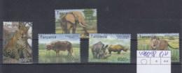 Tansania  (BBK) Michel Cat.No. Mnh/** 4088/4092 - Tanzanie (1964-...)