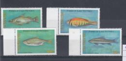 Tansania  (BBK) Michel Cat.No. Mnh/** 4301/4304 Fish - Tanzanie (1964-...)