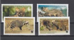 ZAR  (BBK) Michel Cat.No. Mnh/** 2948/2951 Wwf - Centrafricaine (République)