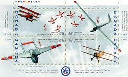 CANADA - 50e Anniversaire Du Canadian International Air Show - Avions