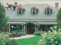 Garden & Entrance. Peppers Guest House. Hunter Valley. Sent To Denmark.   B-3388 - Australia
