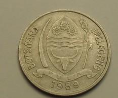 1989 - Botswana - 10 THEBE - KM 5 - Botswana