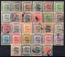 BRUNEI 1907/1947 Protettorato Inglese - Barca Su Fiume - Collections (sans Albums)