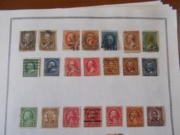 Lot N° 637  ETATS-UNIS. Sur Page D'albums .. No Paypal - Stamps