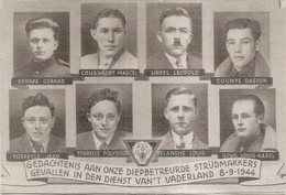 DP.OORLOG 40-45  HERDENKINGSMIS - SLACHTOFFERS BEVRIJDING 11 SEPTEMBER 1944 ST.NIKLAASKERK OOSTDUINKERKE - Godsdienst & Esoterisme