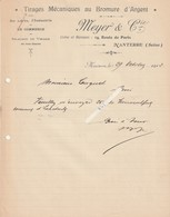 Nanterre---hauts De Seine---92----tirages Au Bromure D'argent---meyer Et Cie - Old Paper
