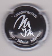 Capsule Champagne MERCIER Jean-Marie ( Nr , Noir Et Blanc ) Nouvelle {S51-18} - Champagne