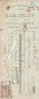 Ets Le Deley--(cartes Postales Eld)---imprimerie---paris - Vieux Papiers
