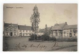 Beringen  Beeringen - Grand'Place Uitg. Vve Ed.Rutten 1907 (kleine Plooi Li Onder) - Beringen