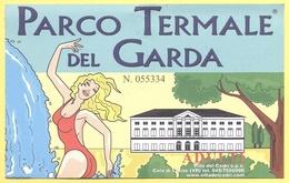 COLA' DI LAZISE - Parco Termale Del Garda - Villa Dei Cedri - Biglietto D'Ingresso Adulti - Tickets D'entrée