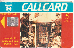 "IRELAND - Ireland""s First Public Call Box/Dublin 1925, Tirage 60000, 05/95, Mint - Ireland"