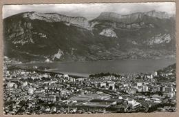 74 / ANNECY - Vue Aérienne : Quartier Usines NTN-SNR, Gare Et Lac (années 50) - Annecy