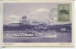 Esztergom - View From Parkany (Maximum Card) - Hongrie