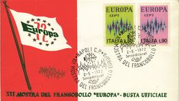 ITALY  1972  EUROPA CEPT FDC - 1972