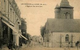 Les Rosiers Sur Loire - Rue De La Gare Et L'église - Animation - AA191 - France