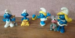 Lot De 4 SCHTROUMPFS - Smurfen