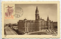 Gyor - City Hall (Maximum Card) - Hongrie