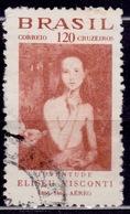 "Brazil, 1966, ""Youth"" By Eliseu Visconti, 120cr, Sc#C112, Used - Brazil"