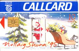 IRELAND - Christmas 1992, Chip GEM1.3, 12/92, Used - Ireland