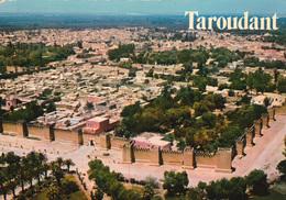 TAROUDANT (Maroc) - Vue Aérienne - Aerial View - N° 1 - Voyagée En 1974 - TBE - 2 Scans - Sonstige