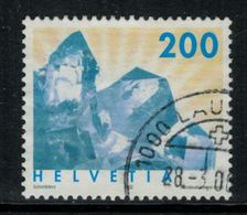 Suisse // Schweiz // Switzerland // 2000-2009 // 2002 Minéraux, Cristal De Roche No.1065 - Switzerland