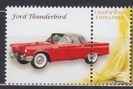 THAÏLANDE Thailand Ford Thunderbird ** MNH Voiture Véhicule Camion Car Vehicle Truck Auto Fahrzeug LKW Coche Veh [cn72] - Voitures