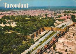 TAROUDANT (Maroc) - Vue Aérienne - Aerial View - N° 2 - Carte Vierge - TBE - 2 Scans - Autres