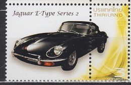 THAÏLANDE Thailand Jaguar E-Type Series 2 ** MNH Voiture Véhicule Camion Car Vehicle Truck Auto Fahrzeug LKW Coc [cn75] - Voitures