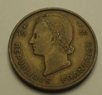 1956 - Afrique Occidentale Française - French West Africa - 25 FRANCS - KM 7 - Monnaies