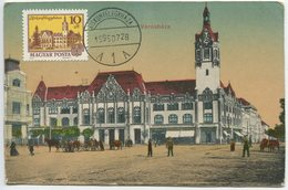 Kiskunfelegyhaza - City Hall (Maximum Card) - Hongrie