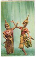"ASIE THAÏLANDE BANGKOK : "" LAKORN A THAI  THEATRICAL PLAY - Femme Frau Lady - Danse Folklore - Thaïlande"