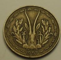 1957 - Afrique Occidentale Française - French West Africa - Togo - 10 FRANCS - KM 8 - Monnaies