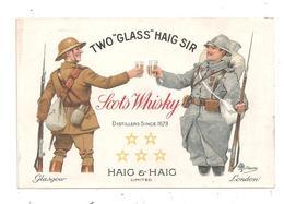 Scots Whisky- Haig Haig-Militaires- Poilus -(C.8320) - Weltkrieg 1914-18