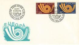 SWITZERLAND  1973 EUROPA CEPT FDC - 1973