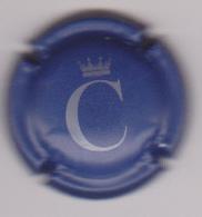 Capsule Champagne COURONNE POL ( 1 , Bleu Mat Et Gris ) Nouvelle {S51-18} - Champagne