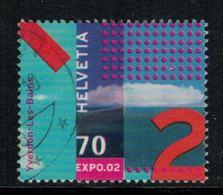 Suisse // Schweiz // Switzerland // 2000-2009 // 2002 , Expo 02, Oblitéré No.1044 - Switzerland