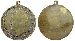 04839 MEDAGLIA MEDAL COMMEMORATIVE GEORGIUS VI D.G ER. OMN. REX FID IND IMP. - Royaume-Uni