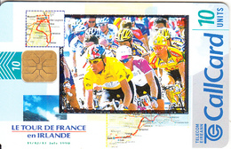 IRELAND - Le Tour De France En Ireland, 07/98, Used - Ireland