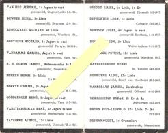DP.OORLOG 14-18  NAGEDACHTENIS GESNEUVELDE SODATEN VAN WOUMEN-JONCKERSHOVE OORLOG 14-18 - Religion & Esotérisme