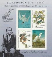 J.J. Audubon - Illustre Peintre Ornithologue - 1995 - Yet T N° 18 - Neufs