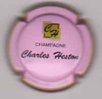 Capsule Champagne CHARLES HESTON ( 29c ; Rose Et Noir ) {S51-18} - Champagne