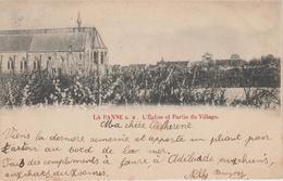 CPA Précurseur La Panne S. M. - L'église Et Partie Du Village - De Panne