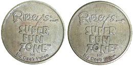 05364  GETTONE TOKEN JETON AMUSEMENT CENTER RIPLEY'S SUPER FUN ZONE - USA