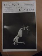 Cirque Dans L'univers Circus Circo Club Nr 4 1967 - Livres, BD, Revues