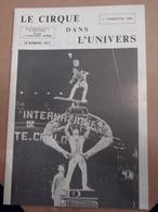 Cirque Dans L'univers Circus Circo Club Nr 1 1989 - Livres, BD, Revues